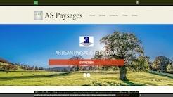 Site internet aspaysages.com par Pierre Laurent webmaster