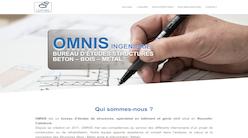 site omnis.nc par Pierre Laurent webmaster